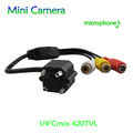 Modern wide angle CMOS MINI CCTV Camera with Microphone
