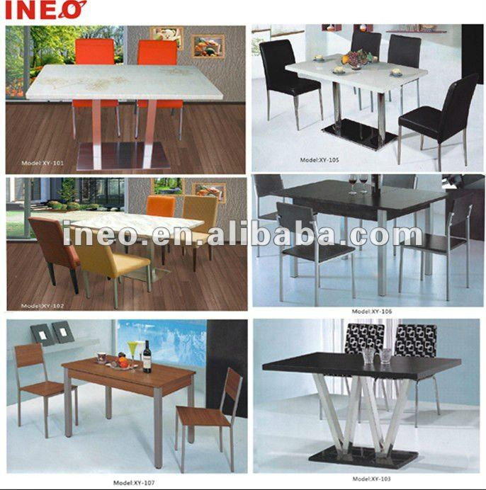 Guangzhou modern style stainless steel fast food wholesale chinese restaurant furniture