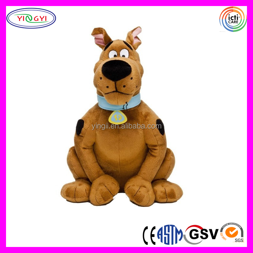 D362 Different Pose Scooby Dog Stuffed Toy Plush Scooby Doo