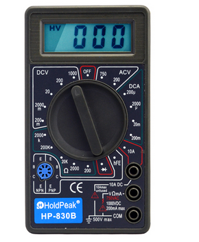 Mini size low price digital multimeter 830B