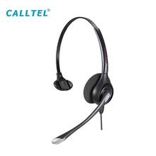 Professional Mono Stereo Noise Cancelling Headphone rj11 Mul-function USB Call Center Headset