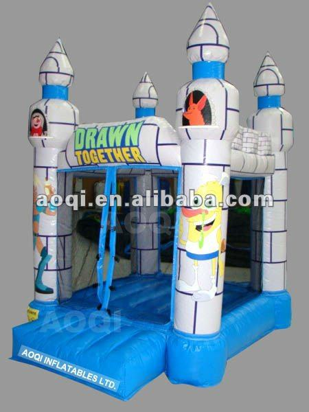 AOQI best inflatable children bouncing castle with cheap price