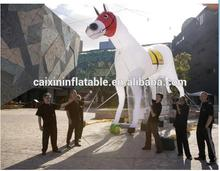 giant inflatable flying jumping horse model replicas cartoon animal