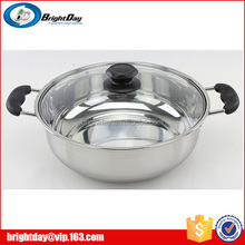 Restaurant Stainless steel small electric multi cooking pots stainless steel soup pot