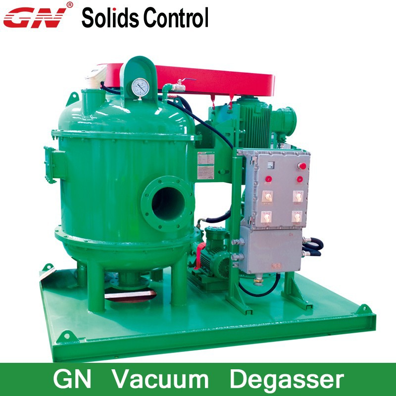 Drilling fluid degasser