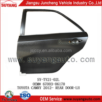OEM Steel Back Door Auto Spare Parts For Toyota Camry