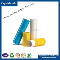 best selling paper chapstick tube fancy lipstick tube round kraft boxes