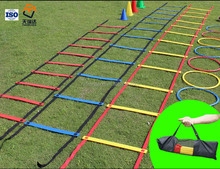 adjustable football soccer training equipments speed agility ladder
