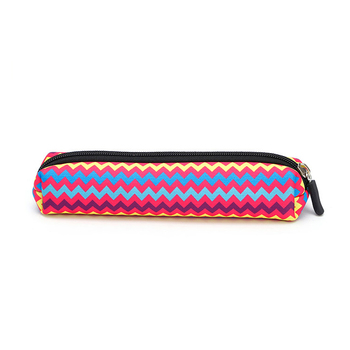 ECO-friendly Cheap Wholesale Custom Printed School Zipper Closure Pencil Case