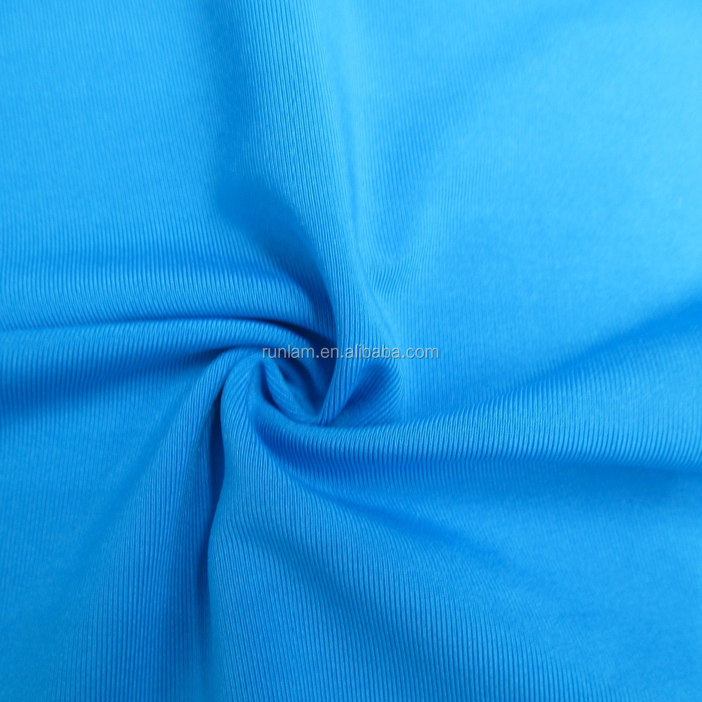 80% polyester 20% spandex knit fabric for pajamas, yoga,sportswear,bra