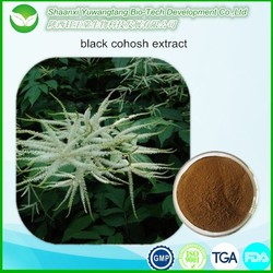 black cohosh extract Triterpene Glycosides ( Triterpenoid saponins )