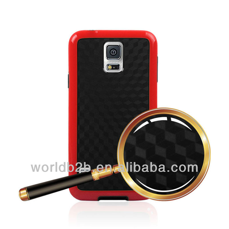 Reasonable price anti-skid color bumper frame s5 tpu cases wholesale made in china