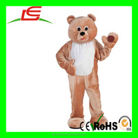 Hot Sale Custom Cartoon Teddy Bear Character Mascot Costumes Used For Christmas Activities