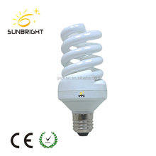 15W Full spiral energy saving lamp economic lights bulb make in china factory ce rohs