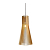 Home Romantic decoration LED Modern Natural wood luxury chandelier light