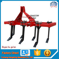 Agricultural implement mini tractor subsoiler plow cheap farm machinery