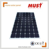 MUST pv mono solar module cheap solar panel price india with TUV CE UL