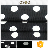 Polyester blank plain great fabric jacquard