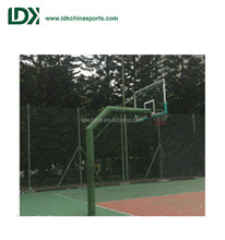 Most popular outdoor fixed basketball stand for sale