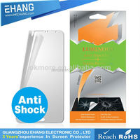 Anti stratch anti shock anti fingerprint diamond tempered like star screen protector for smart phone