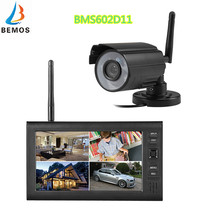 7 Inch TFT LCD Wireless Video Door phone with integrated video recorder