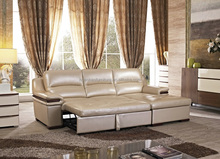 S134 Simple design sleeper leather sofa set buying from china online