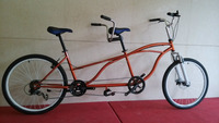 2015 new steel cycling young frame bikes tandem bicycle