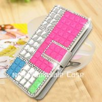 Top sell one diamond case for OPPO U3 bling cell phone covers for OPPO U3
