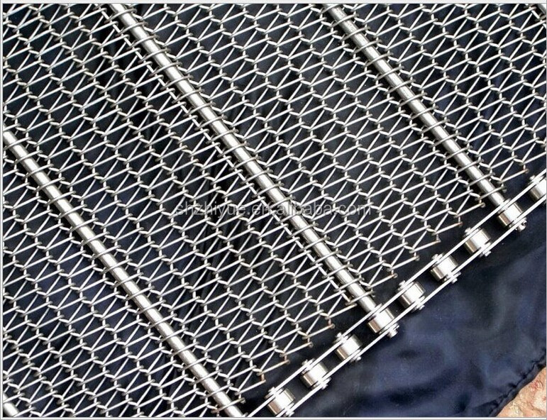 double weave wire mesh conveyor belts