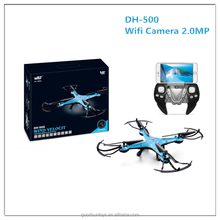 2017 Latest set height function Drone with camera Wifi DH-500 rc quadcopter