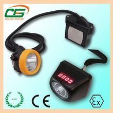 ce atex waterproof rechargeable led mining head lamp