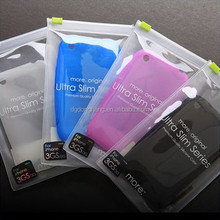 Small Phone Packing Printed Clear PVC Ziplock Bags