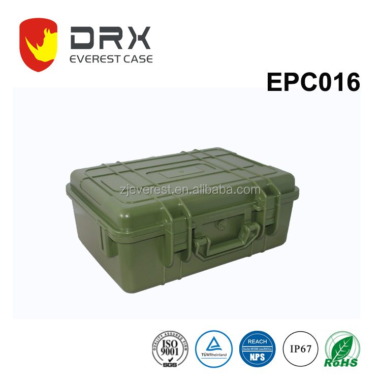 Equipment waterproof and shockproof case military plastic case box