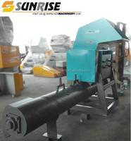 China mainland high capacity Plastic Film Recycling Crusher