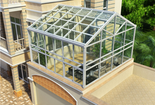 International standard design aluminum alloy frame sunroom and glass houses with Lowe glass