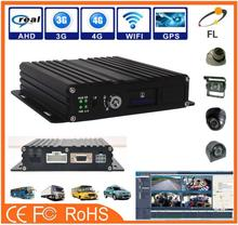 Economic and Efficient China Recoda M720 Vehicle Mobile DVR 4 Channel 1080P Support on 3G with free server software