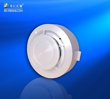 Battery smoke detector fire alarm with camera