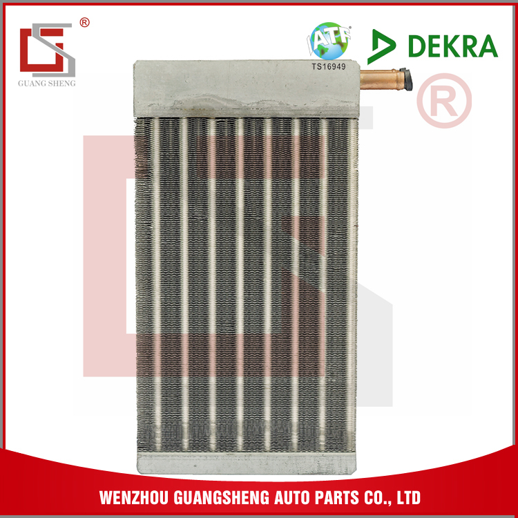 GUANGSHENG Automobiles Truck Refrigeration Body Parts Qualified Heater Core Manufaturer Heater