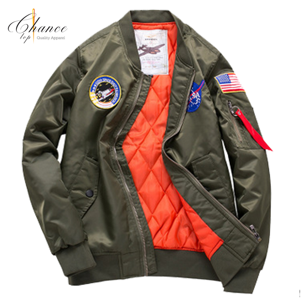 J-1708K11 2017 men autumn plus size custom bomber jacket air force jackets for <strong>sale</strong>