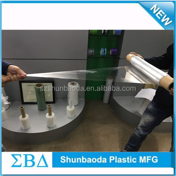 Factory wholesale price pallet wrapping plastic roll with lowest price