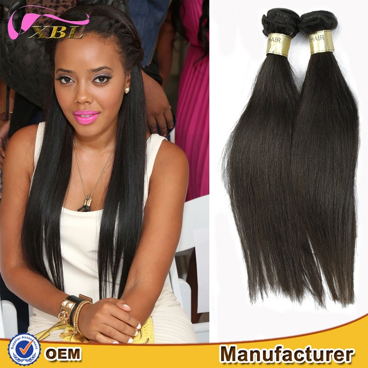 Most popular human hair extensions unprocessed virgin brazilian hair
