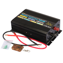 dc 12v 24v 48v to ac 120v 60hz 600w high frequency pure sine wave inverter CE FCC RoHS approved