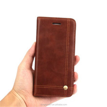 Luxury PU Wallet Leather flip Case with card holder for Samsung Galaxy S7 edge S8 Plus