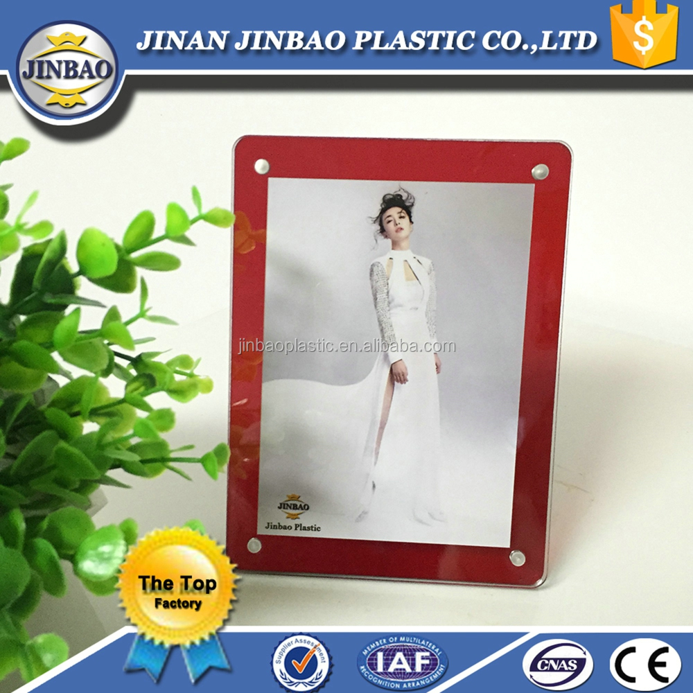 fast delivery ODM/OEM shape acrylic picture frame with cheap price