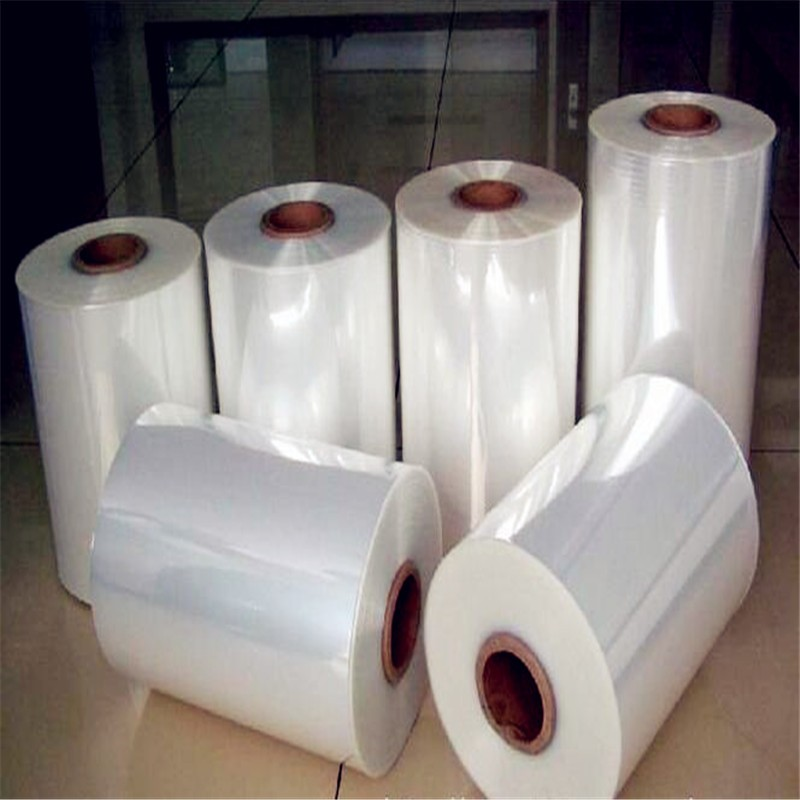 Clear Blue Protective Film Roll Soft PVC Film