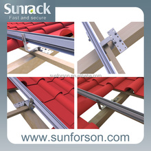 Adjustable Stainless Steel Solar panel Roofing Hook