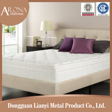 Wholesale super king hotel bedroom memory foam pocket spring mattress
