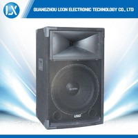 "15"" bass professional hi-fi passive speaker with horn tweeter"