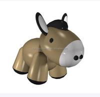 2015 vinyl donkey shape custom