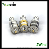 Focusecig technology e-cig new product double airflow control affordable atomizer 2wind RDA